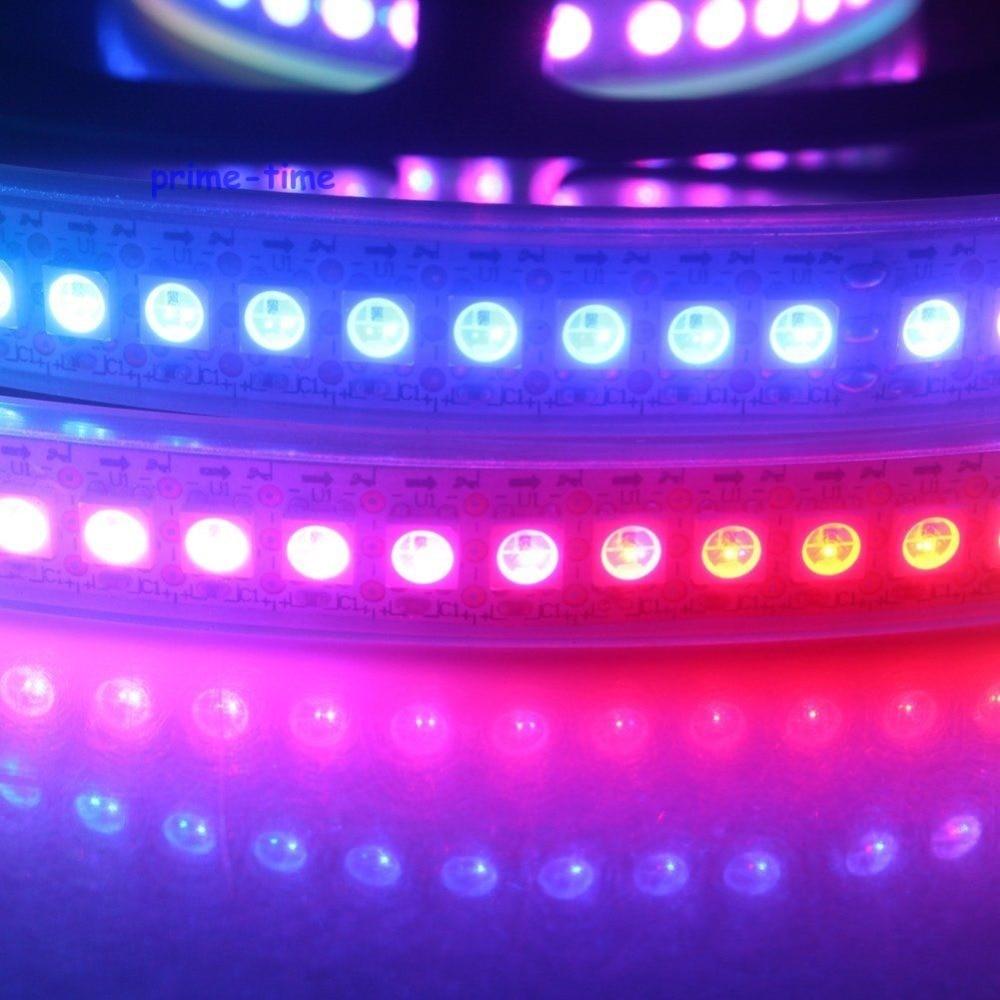 1M WS2812B 144 Pixels Сандық жарықдиодты жолақ, - LED Жарықтандыру - фото 4