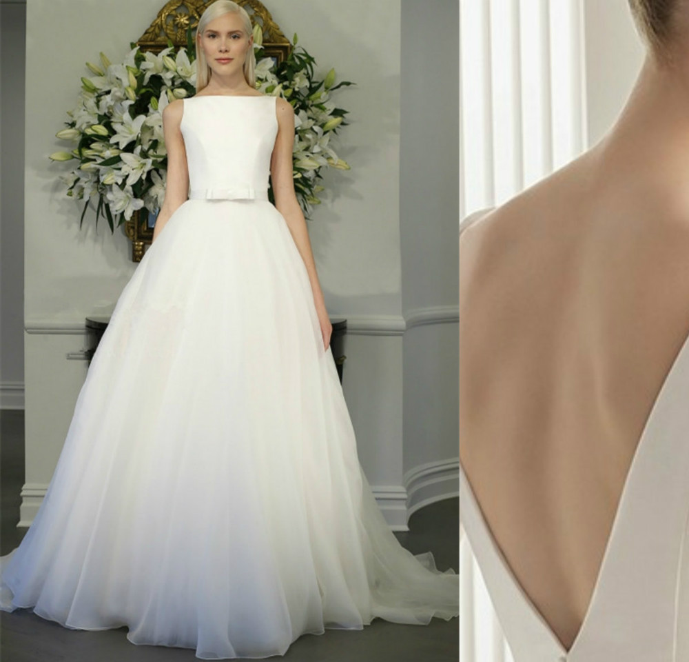 Buy customize new 30cm court train boat for Buy back wedding dresses