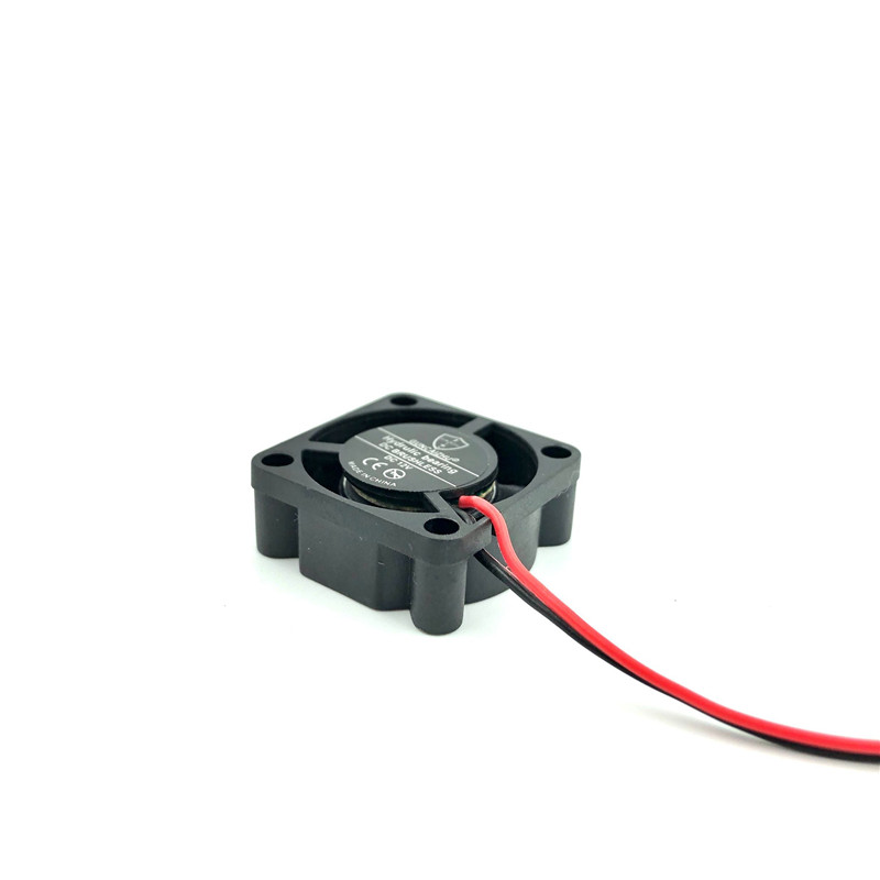 Image 4 - Best silent 25mm Graphic Card Cooler Cooling Fan 5V 12V 24V Fluid bearing 25x25x10mm small brushless dc fan for printer-in Fans & Cooling from Computer & Office