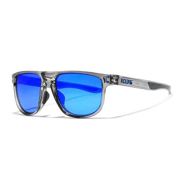 KDEAM lunettes de soleil TR90 haute définition | Lunettes de soleil Sport polarisées pour hommes, verres Polaroid Sport choix des athlètes avec étui