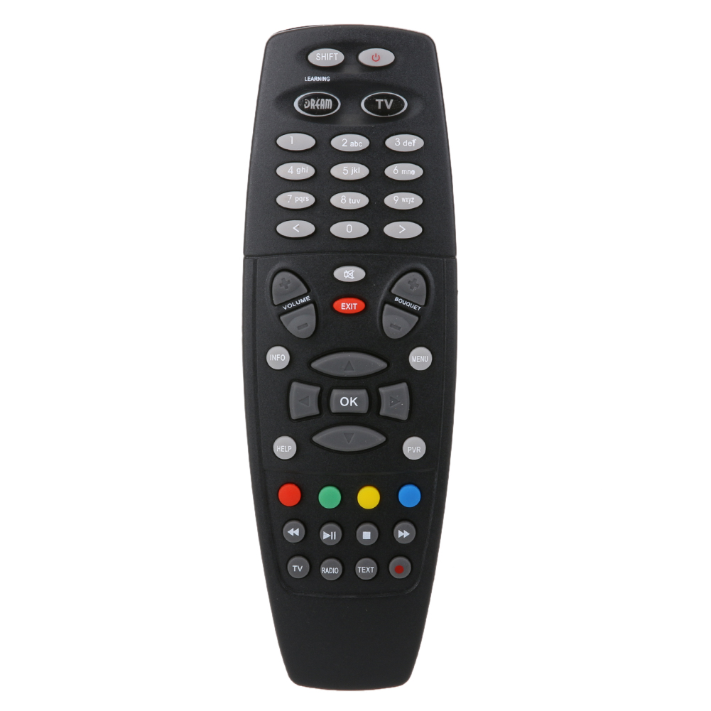 Remote Control Replacement Smart Black Plastic Satellite Receiver Box Remote Control for DREAMBOX DM800 DM800HD DM800S i box rs232 dvb s satellite smart sharing nagra 3 dongle black