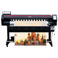 5Ft 160cm Eco Solvent Printer Factory Price Single Xp600 Head Sign Vinyl Billboard Canvas 1.6M Color Photo Printer