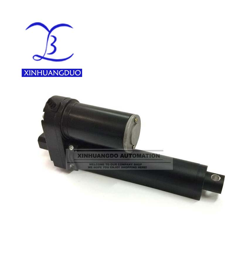 150mm Stroke Heavy Duty 3500N 770LBS load electric linear actuator 12 24V DC6inch 5mm s speed