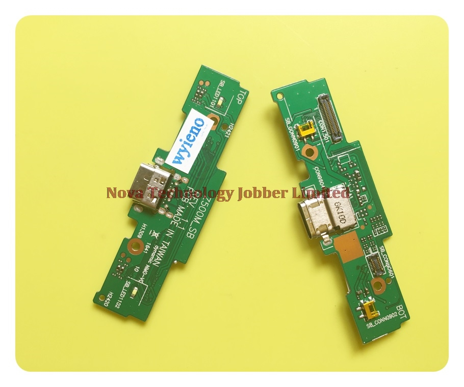 Wyieno For ASUS Zenpad 3S 10 Z500M Charger Port Board USB Charging Connector Flex Cable Microphone Mic Plug Replacement Tracking