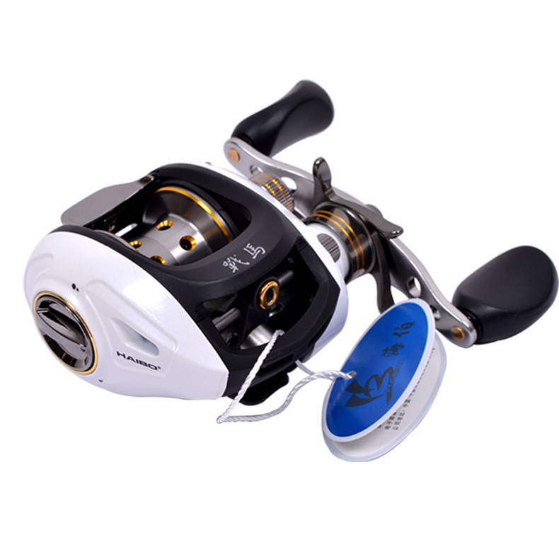 Haibo STEED Baitcasting fishing reel Left right hand All metal Centrifugal 6 5 1 8 1