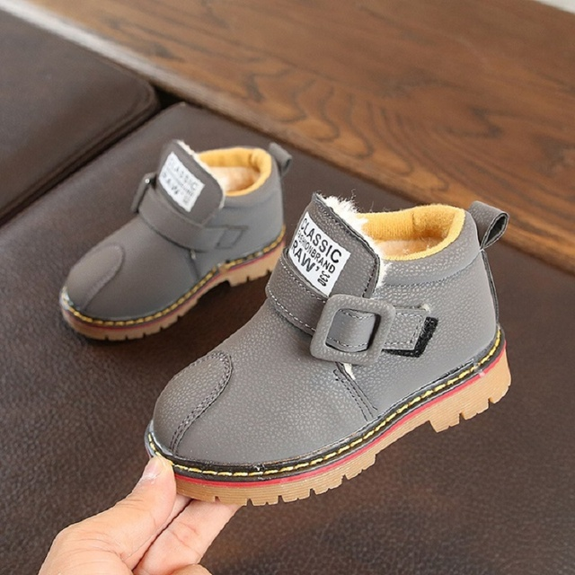 6724674bb Toddler Girl Boots Winter Boys Shoes Girls 2018 Baby Boys Snow Boots ...