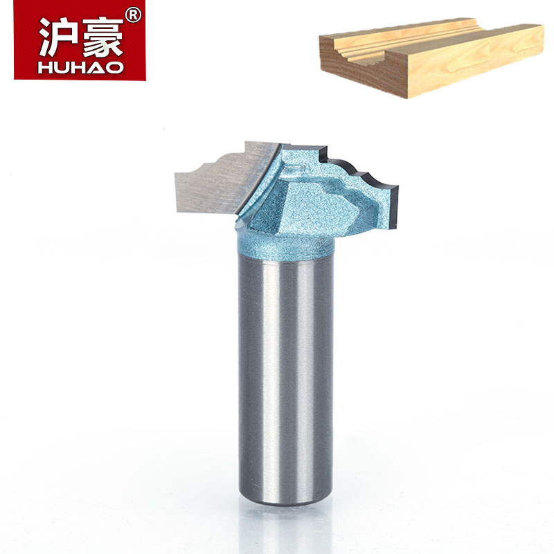 HUHAO 1/2 Shank Router Bits for Wood  Door Pattern Sculpture Endmill  Tungsten Woodworking Carving Tool Milling Cutter high grade carbide alloy 1 2 shank 2 1 4 dia bottom cleaning router bit woodworking milling cutter for mdf wood 55mm mayitr