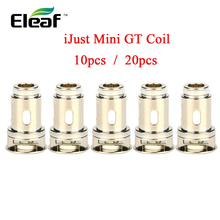 Up to 20pcs!!! original Eleaf iJust Mini GT Coil Atomizer Core 0.6ohm/ 1.2ohm/ 1.4ohm Head for iJust Mini Kit/ Tank Vape Coil цены онлайн