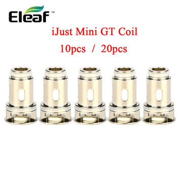 цена на Up to 20pcs!!! original Eleaf iJust Mini GT Coil Atomizer Core 0.6ohm/ 1.2ohm/ 1.4ohm Head for iJust Mini Kit/ Tank Vape Coil