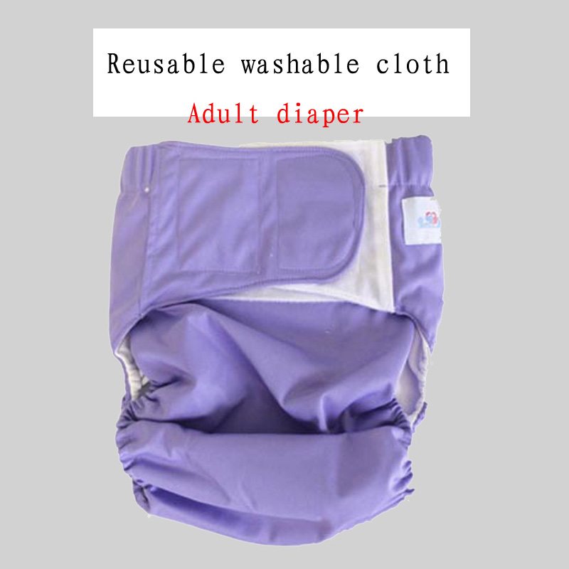 Adult Washable Cloth Adjustable Reusable Ultra Absorbent Incontinence Nappy Adult Diapers Disposable Adult Diaper Reusable