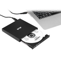USB 2 0 External CD DVD ROM Player Optical Drive DVD RW Burner Reader Writer Recorder