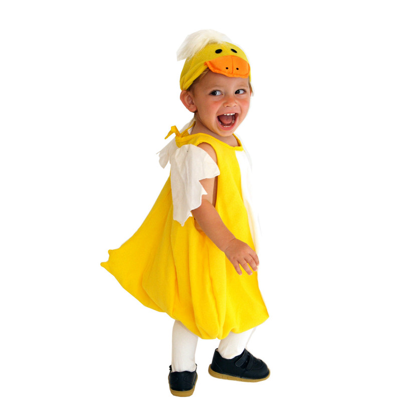 Toddler Lovely Yellow Duck Ducky Halloween Costume  3
