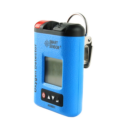 Riot Control Oxygen Gas Analyzer O2 Concentration Measuring Instrument Detector Tester SmartSensor W/Sound & Light Alarm