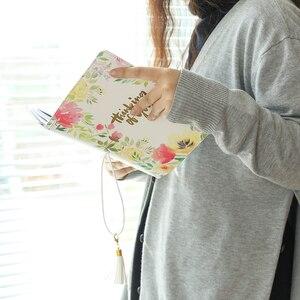 Image 3 - Lovedoki Hoa Da Bìa Du Lịch của Máy Tính Xách Tay Tiêu Chuẩn Tạp Chí Nhật Bản 2019 Planner Sketchbook Trường Máy Tính Xách Tay Văn Phòng Phẩm