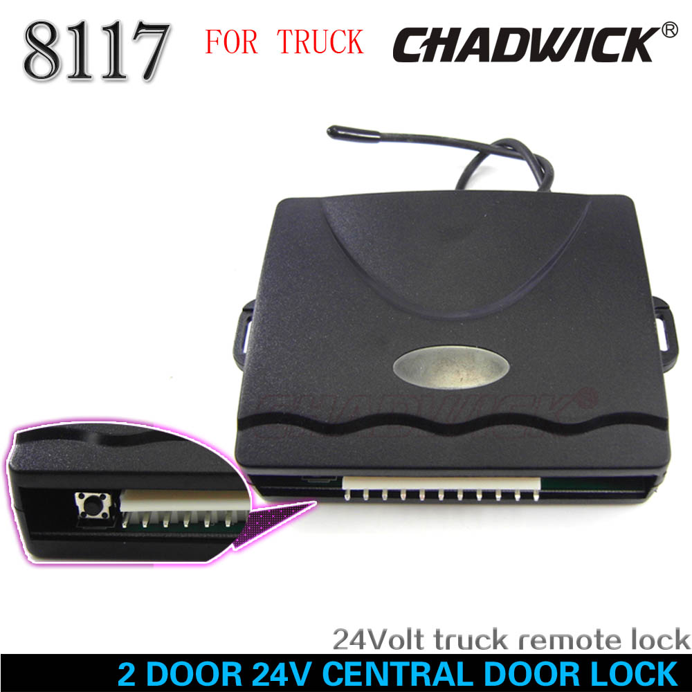 FLIP KEY 24V for truck 15 LEFT 2 door Central Door Lock 24volt qualiy Remote control Vehicle Keyless Entry System CHADWICK 8117 in Burglar Alarm from Automobiles Motorcycles