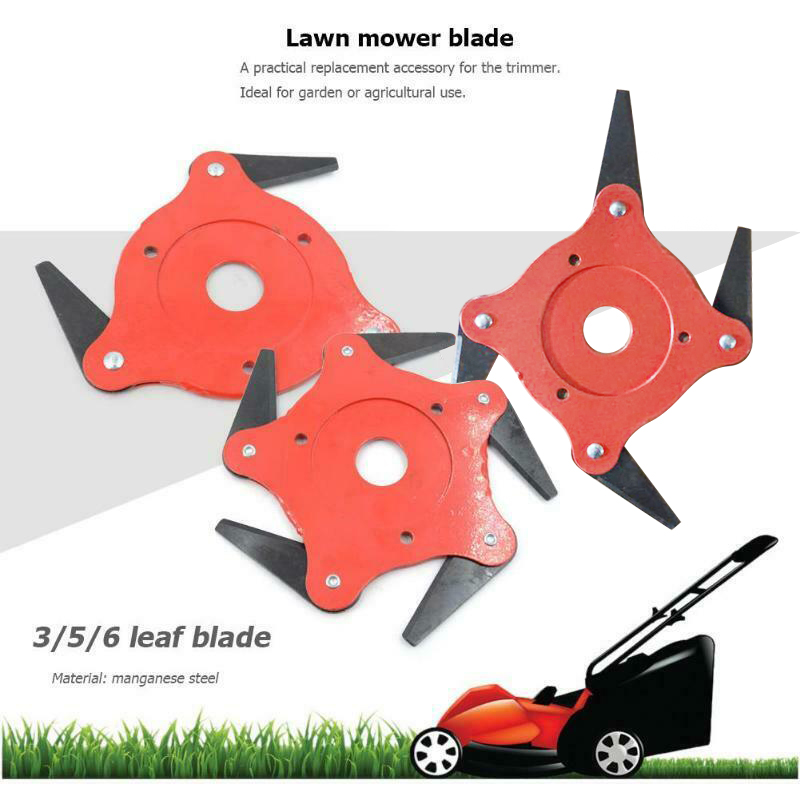 3T/4T/5T/6T Garden Lawn Mower Blade Manganese Steel Grass Trimmer Head Brush Cutter Blade For Lawn Mower 2019 New Dropshipping