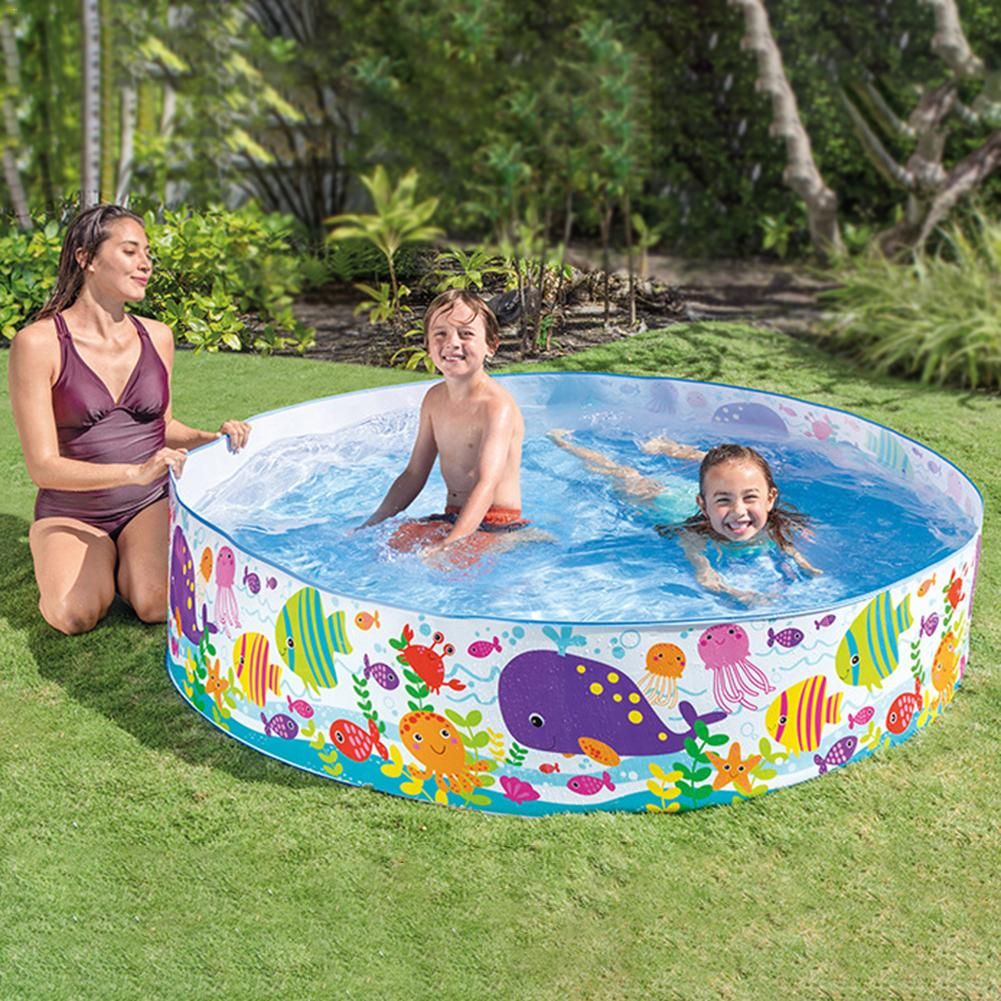 Plastique dur Portable piscine enfant piscine gonflable piscine pliable maison accessoires piscine