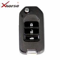 XHORSE VVDI2 For Honda Type Wireless Universal Remote Key 3 Buttons Transponder Remote Key Maker For