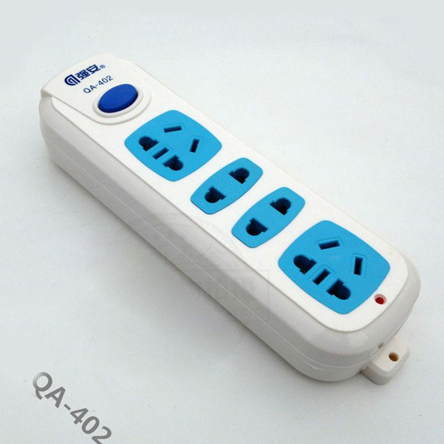 Electrical Sockets Grounded Power Strip Outlet Flapper Wireless ...