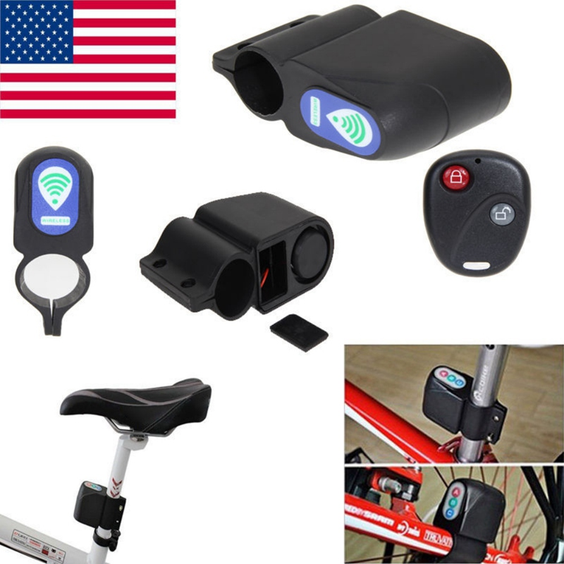 Disciplined Droppingship Bicycle Safety Lock Super Loud Anti-theft Bicycle Lock Wireless Remote Control Vibration Alarm Bicycle Lock Crease-Resistance