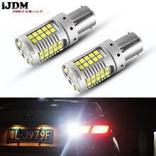 IJDM 1156 LED Canbus sin errores 3156 7440 LED para luces de intermitentes, luces de freno, luces de marcha atrás blanco rojo amarillo 12V