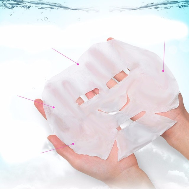 50pc/pask Compressed Face Mask Paper Disposable Facial Masks Papers Natural Skin Care Wrapped Masks DIY Women Makeup Beauty Tool 4
