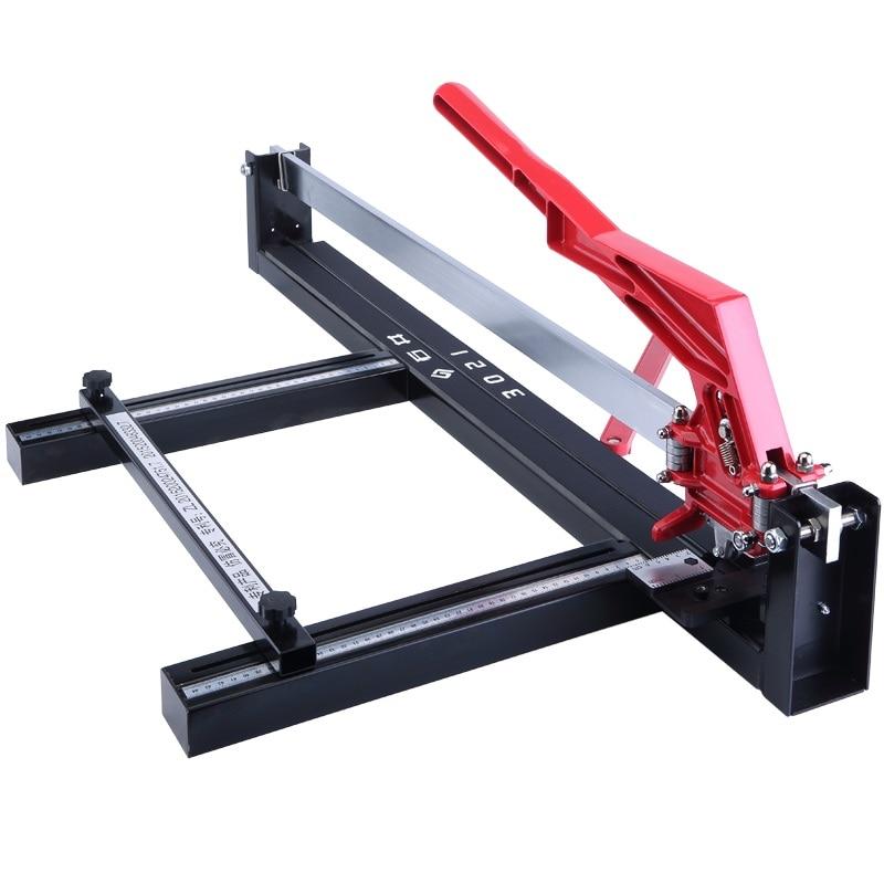 Manual Push Knife Laser Infrared Stone Tile Cutting Machine