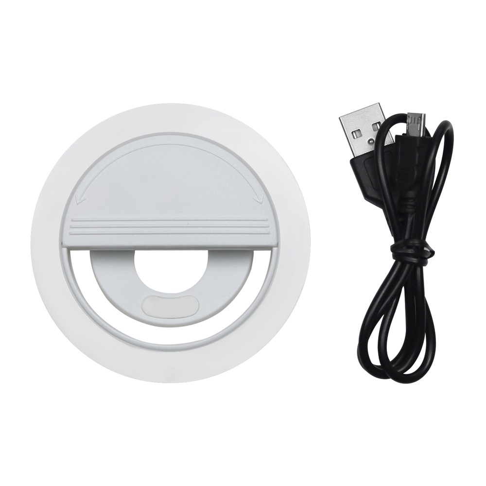2018 LED Flash Selfie Luz Lámpara luminosa Anillo de teléfono 36 - Cámara y foto - foto 4