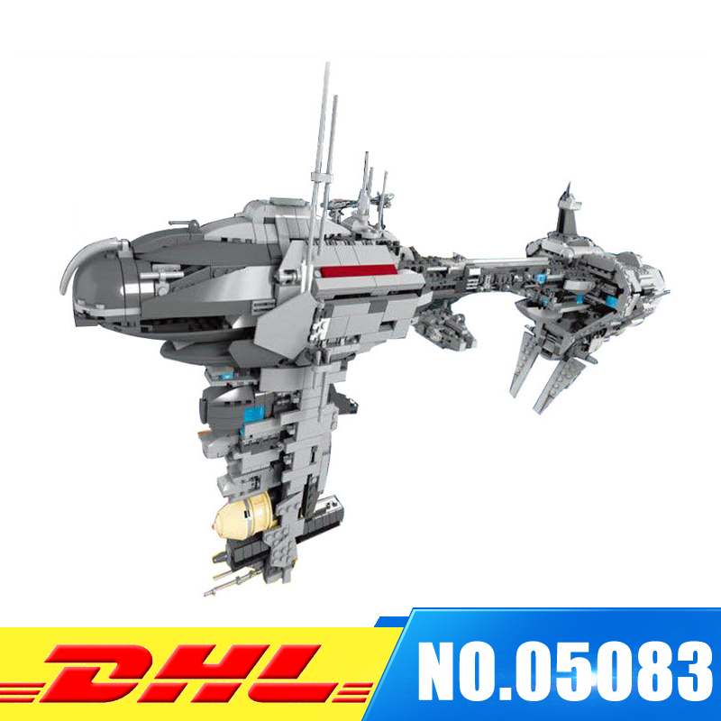 Lepin 05083 1736Pcs UCS Series MOC The Nebulon-B Medical Frigate Set Building Blocks Bricks Funny intelligence Toy For Gift lepin 05083 star legoing moc series the nebulon toy medical frigate set wars building blocks brick toy for children gift toys