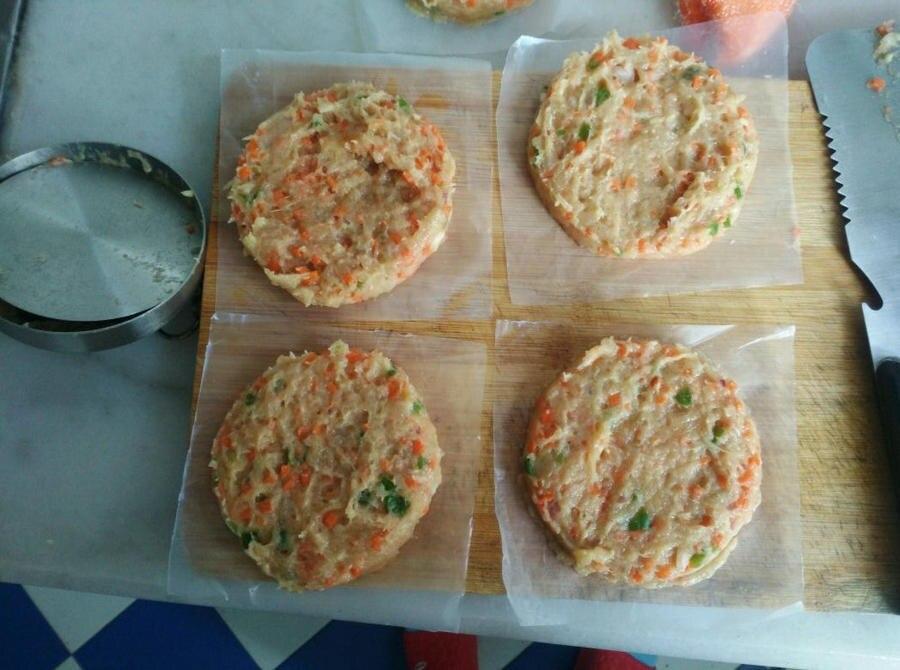 Freies Schiff Kfc Hamburger Pressen Edelstahl 304 Meat Pie Presse