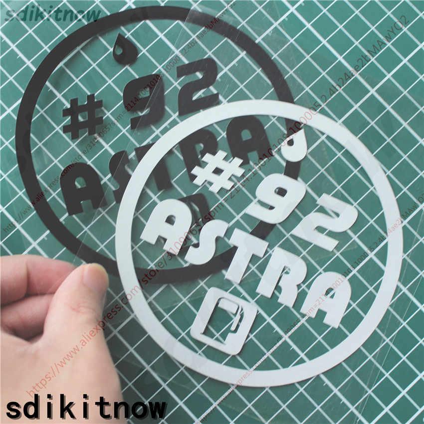 Mobil Styling Tangki Bahan Bakar Topi Stiker 87 89 91 92 93 95 96 98 Diesel Stiker untuk Opel Astra H G J K F Mokka Zafira B Aksesoris