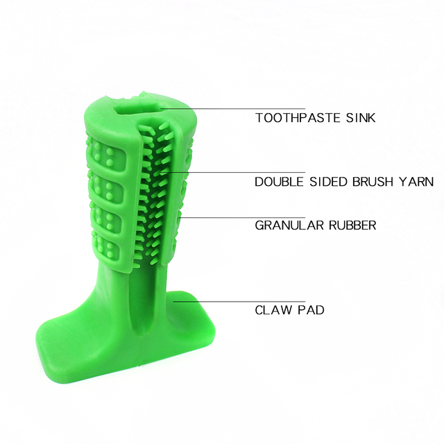 Dog Toothbrush Toy