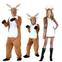 Irek חם חדש המפלגה קוספליי ליל כל הקדושים תלבושות Cartoon בעלי החיים חג המולד איל צבי סקסית מבוגרים תחפושות לילדים