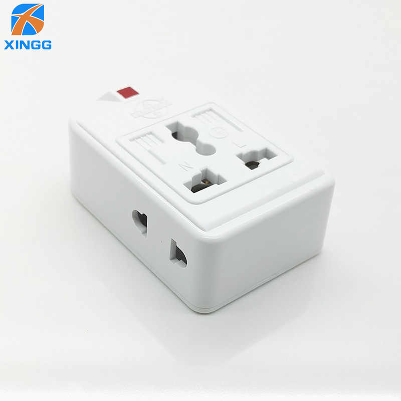Us Eu Uk Au Cn Plug 3 Universele Outlets Power Strip Multi Extension Elektrische Bedrading Afneembare Socket Adapter