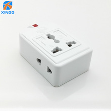 цена на 2 Way US EU UK AU CN Plug Universal Outlet Power Strip Multi Extension Electric Power Wiring Detachable Socket Adapter