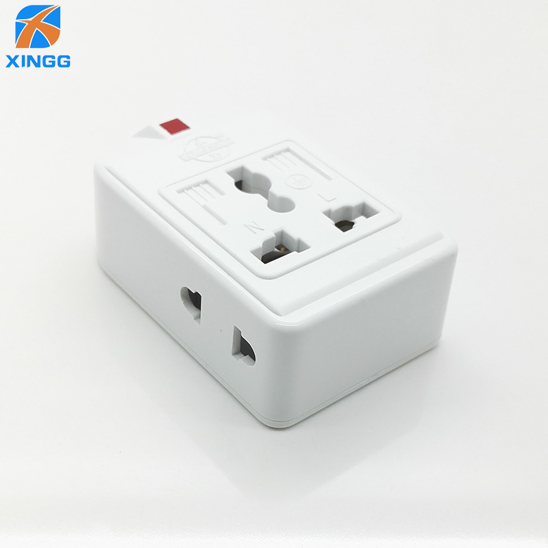 US <font><b>EU</b></font> UK AU <font><b>CN</b></font> Plug 3 Universal Outlets Power Strip Multi Extension Electric Power Wiring Detachable Socket <font><b>Adapter</b></font> image