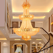 Modern Chandeliers Crystal Chandelier Lights Fixture LED Lamp Home Indoor Lighting Long Hanging Light AC90V-260V D100cm H150cm modern creative spider chandeliers lights fixture white black nordic stretchable working drop light home indoor hanging lamp led