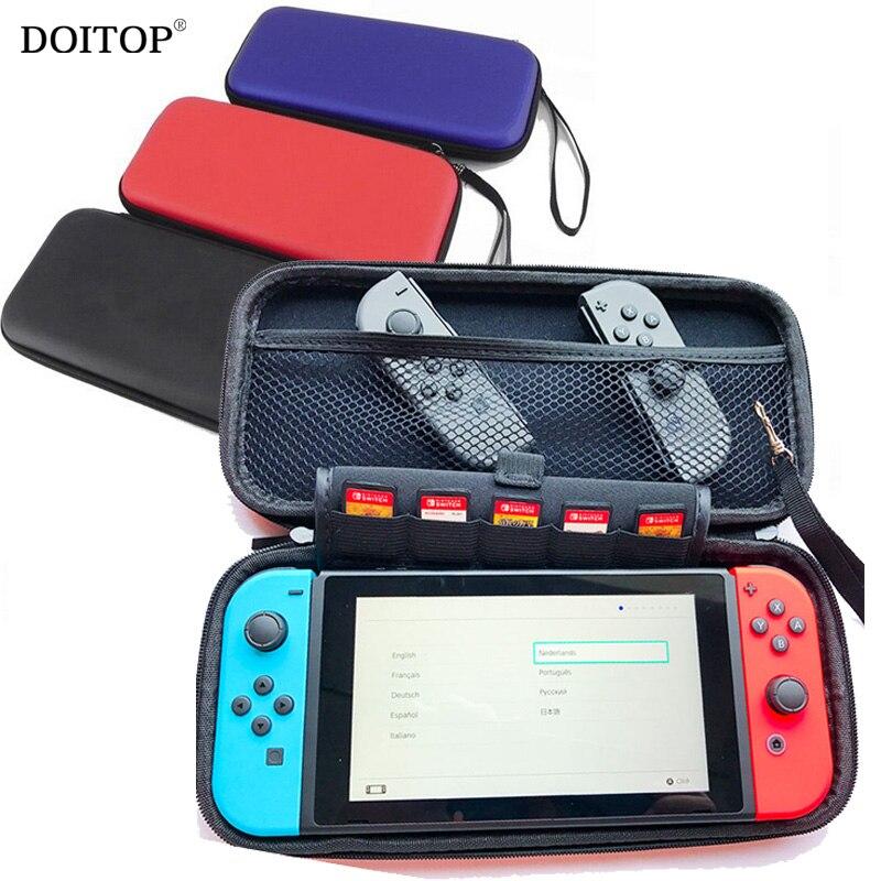 DOITOP 25cmx12cmx4cm valódi EVA kemény táska Nintend Switch - Játékok és tartozékok