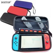 DOITOP 25cmx12cmx4cm Подлинная EVA Жесткий мешок для Nintend Switch Защитный чехол Сумка для Nintend Switch Портативный сумка для переноски