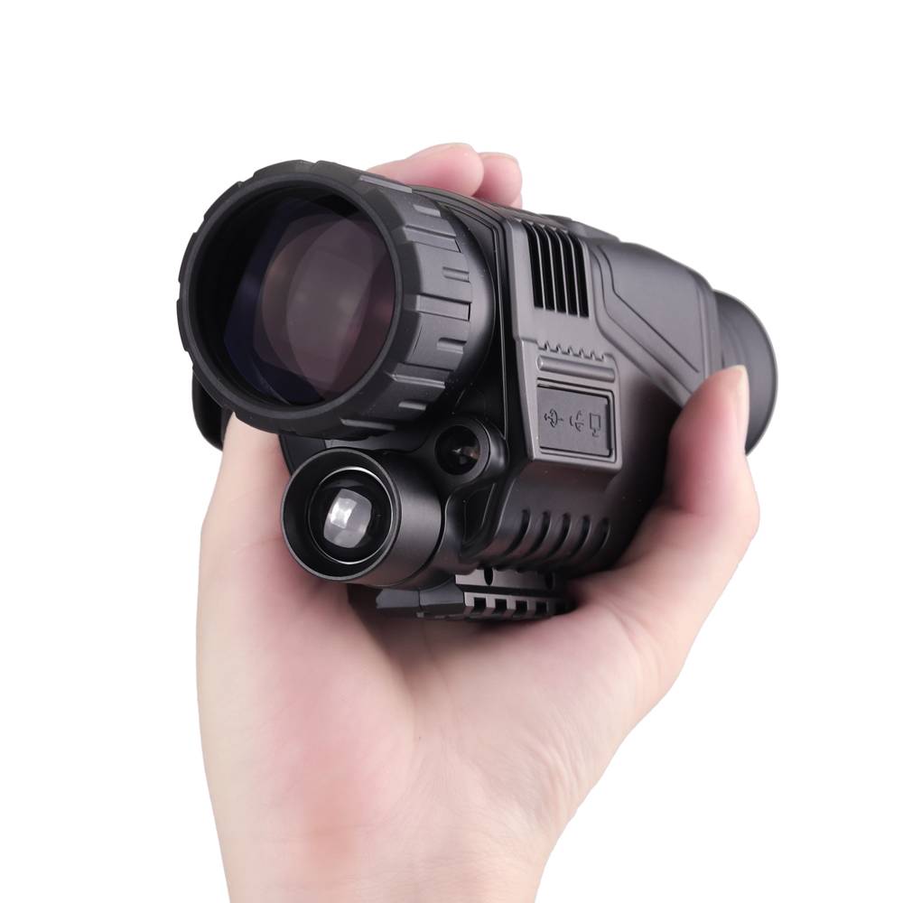 Hunting Night-Vision Monocular 2017 Infrared Night Vision Telescope HD Digital Monocular Telescope Powerful stylish stainless steel eyebrow tweezers silver