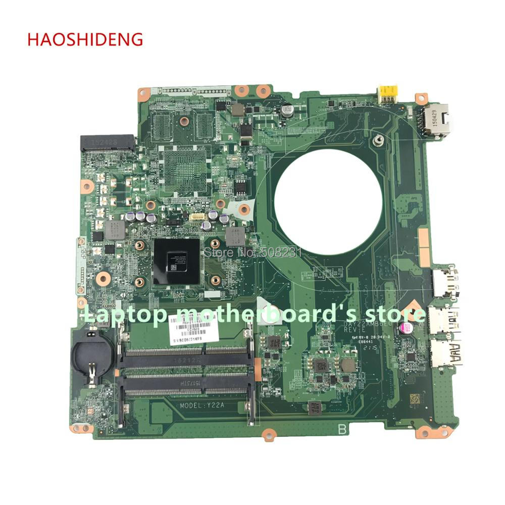 все цены на HAOSHIDENG 763421-501 763421-001 DAY22AMB6E0 Y22A for HP PAVILION 17-F 17Z-F motherboard with A4-6210 CPU fully Tested