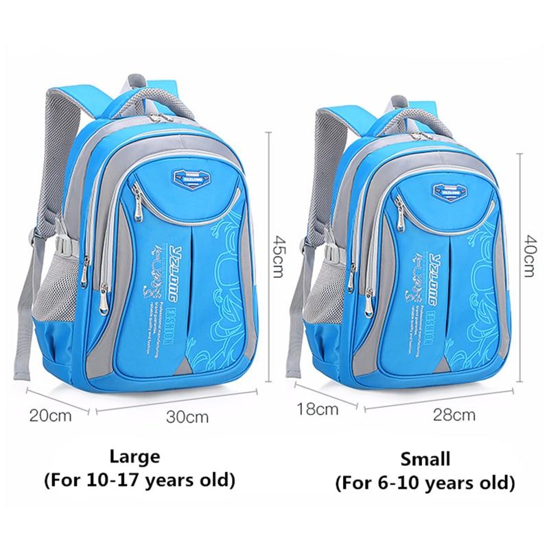 Hldafa Backpack Schoolbag Children School Bags For Teenagers Boys Girls Big Capacity Waterproof Satchel Kids Book Bag Mochila #2