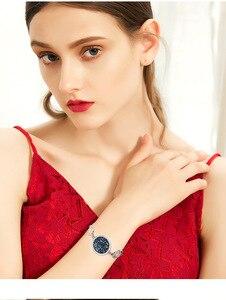 Image 2 - Cdyle Moda Jóia Set Azul Gem Mulheres Colar Pulseira Anel Define Bijoux Embelezado com cristais Redondos