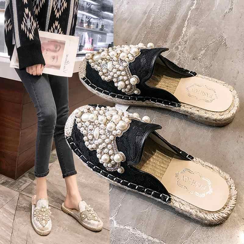 Sycatree/2019 г.; женская повседневная обувь; элегантные женские туфли на плоской подошве из мягкой кожи со стразами и квадратным каблуком; повседневные женские туфли на плоской подошве; большие размеры