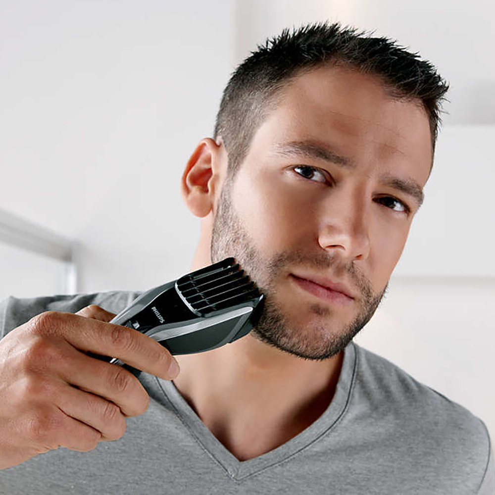 Image 5 - Professional Philips Electric Hair Clipper HC5450 with Rechargeable Titanium Alloy Blade Cordless LCD Display Shaver for Men-in Electric Shavers from Home Appliances
