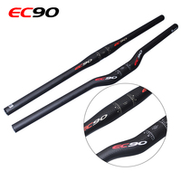 2017 High Quality Carbon Fiber Bicycle Handlebar Bmx Mtb Mountain Road Bike Handlebar Parts Accessories Straight