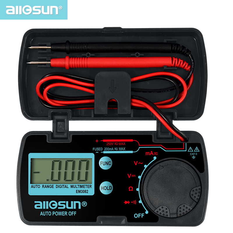ALL SUN all-sun EM3081 EM3082 Digital multimeter 3 1/2 1999 AC / DC - Mätinstrument - Foto 3