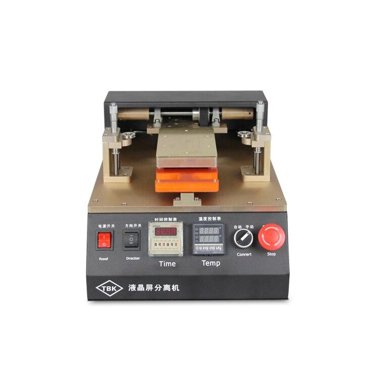 TBK-958 Build-In Air Pump Automatic Vacuum Separator LCD Separating Machine for Mobile refurbishing  tbk 228 electric heating and air blow separating roaster lcd repairing equipment