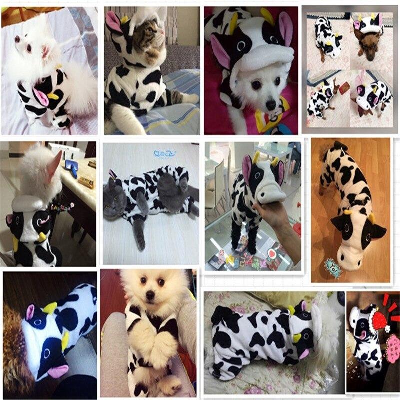 зима pet cat одежда теплый щенок пальто толстовки смешные костюмы мягкая шерсть домашних животных одежды ropa cachorro 3