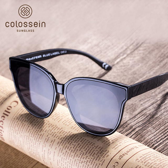 COLOSSEIN кошачий глаз роскошные солнцезащитные очки Для женщин Брендовая дизайнерская обувь в стиле ретро женские солнцезащитные очки для Для женщин Для мужчин Óculos gafas-де-сол